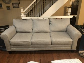Blue grey couch for Sale in Pittsburgh,  PA
