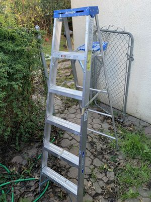 Werner 6 ft ladder for Sale in Stockton, CA