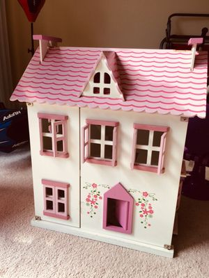 Kids wood dollhouse for Sale in Morrisville, NC