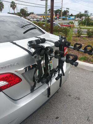 Bike rack for 3 bikes for sedan for Sale in Tarpon Springs, FL