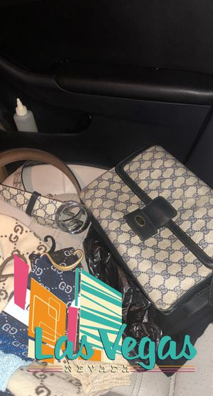 GG PLUS Monogram Interlocking G Belt 75 Navy & Real Gucci Crossbody Messenger bag for Sale in Las Vegas, NV