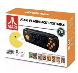 Atari Flashback Portable Console Deluxe 70 Built-In Games SD card slot 2.8 LCD for Sale in Pompano Beach, FL