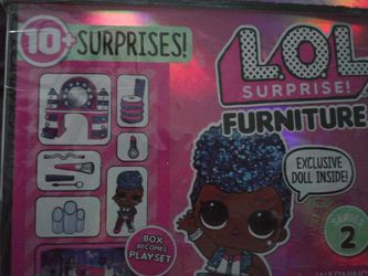 Lol Surprise ! Furniture Backstage with Independent Queen + 10 Surprises $12 for Sale in Acampo,  CA
