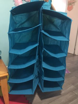 Closet cube organizer hanging for Sale in Bolingbrook, IL