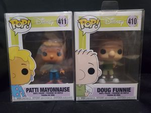 Doug Funny and Patty Mayonnaise Funko Pop Lot for Sale in Los Angeles, CA