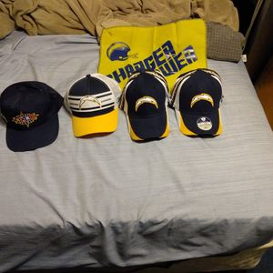 Official NFL Charger Jersey+ Hats Plus Bear's Hats for Sale in National City, CA