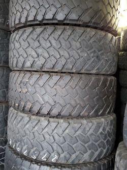275/70r18 NITTO Tires En Exelentes Condiciones De Vida Las 4 for Sale in Long Beach,  CA