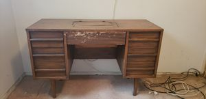 Antique vintage sewing desk. Needs some tender loving care, will be beautiful when restored! for Sale in Orange, CA