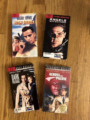 Humphrey Bogart VHS Lot for Sale in Portland, OR