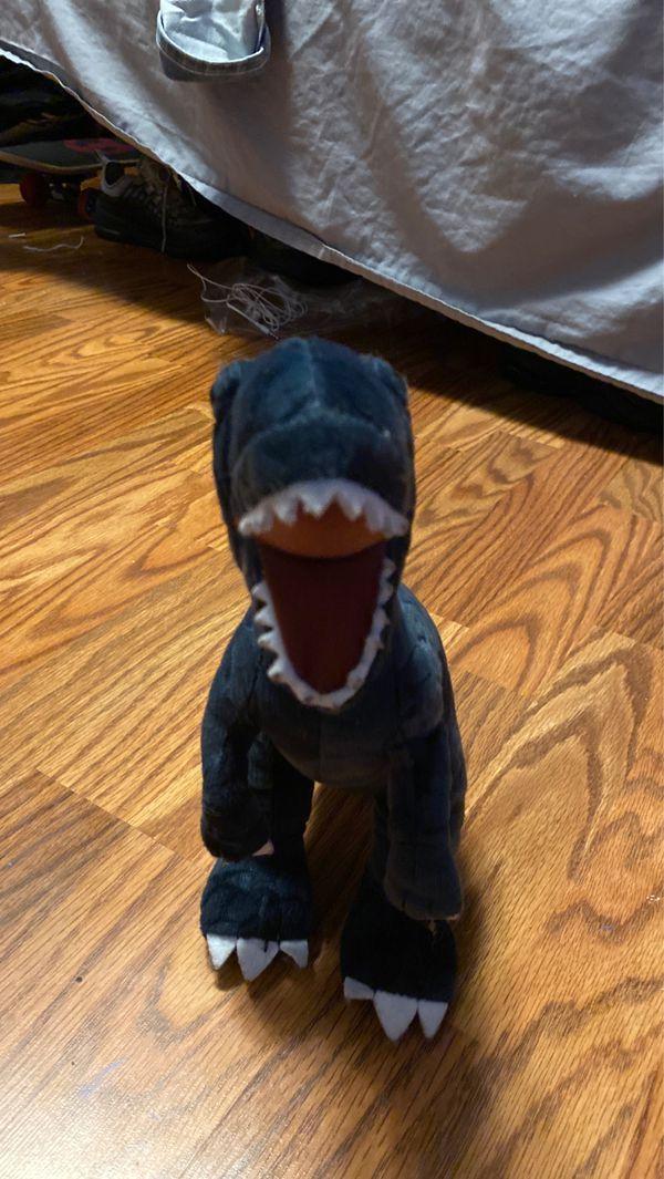Dinosaur plushy