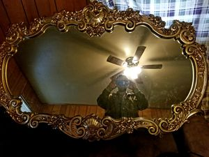 5 foot wide 3 foot tall wall mirror for Sale in Memphis, TN