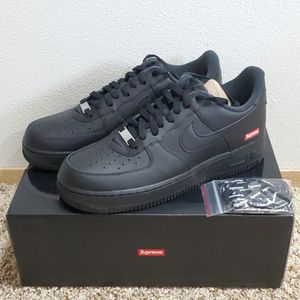 Nike x Supreme Air Force 1 Low Black for Sale in Auburn, WA