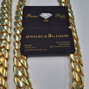 Cuban Links 10k and 14k In Stock Wholesale for Sale in Miami, FL