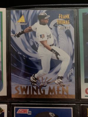 Frank Thomas 95 pinnacle baseball card for Sale in Ashland City, TN
