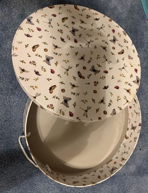 Round ButterFly Decorative Box for Sale in Stuttgart, AR