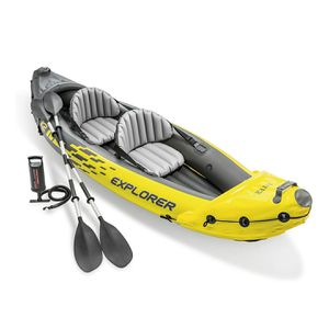 Intex explorer K2 Kayak 2 person with Pump for Sale in Central Falls, RI