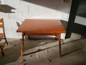 Antique maple kitchen table with 4 chairs for Sale in Washington, PA