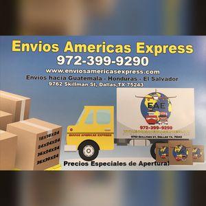 Envíos Americas Expréss for Sale in Dallas, TX