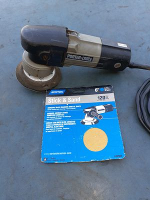 Porter-Cable electric da sander for Sale in Winton, CA