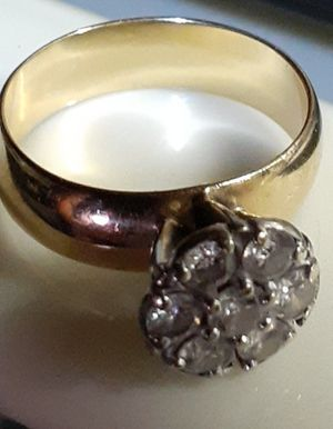 ARTCARVED 14K GOLD AND DIAMOND RING for Sale in Kent, WA