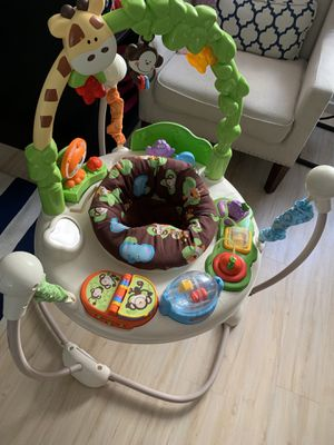 Baby Jumparoo Go Wild Edition with Music and Activities for Sale in Santa Monica, CA
