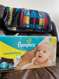 Pampers size 2 Swaddlers Diapers for Sale in Charlotte, NC
