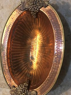 Solid Brass Decorative Tray good condition for Sale in Yakima,  WA