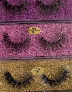 Pack Of 5 3d Eyelashes for Sale in Victorville,  CA