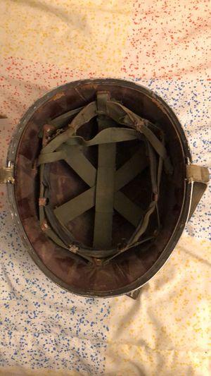 World war 2 helmet and bag for Sale in Broadway, VA