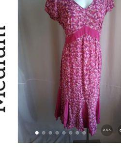 Pink Motherhood Dress Midi Maternity / Pregnancy for Sale in Phoenix,  AZ