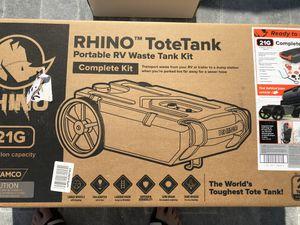 Rhino Tote Tank 21 Gallons RV Waste Tank! for Sale in Miami, FL