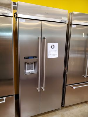 KitchenAid Side By Side Refrigerator Built-in for Sale in Walnut, CA
