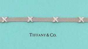 TIFFANY Signature Mesh Bracelet - 1.0 CTW Diamonds Xs 18K White Gold - Stunning for Sale in Marietta, GA