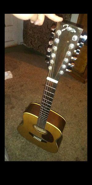 12 string acoustic guitar for Sale in Sanger, CA