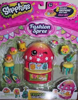 SHOPKINS TROPICAL COLLECTION for Sale in Johnston,  RI