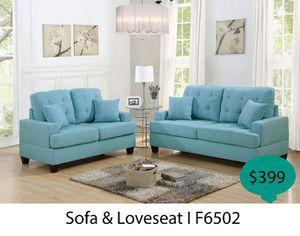 Living room set 2 piece ( sofa + loveseat ) for Sale in La Mirada, CA