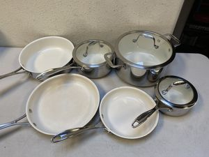 J.A. Henckels International RealClad Stainless Steel 10-piece Cookware Set for Sale in Chino, CA