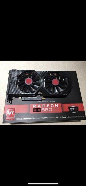 GPU XFX RX 580 8GB OC+ GTS Black Edition for Sale in Yorba Linda, CA