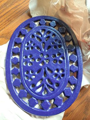 Pretty Blue pot holders for Sale in Montgomery Village, MD