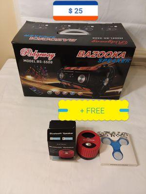 Bluetooth Speaker + gift for Sale in Tucker, GA