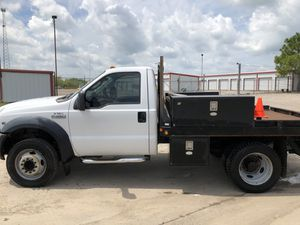 2006 Ford F450 Regular Cab Drw Flatbed, V10 for Sale in Greenville, TX