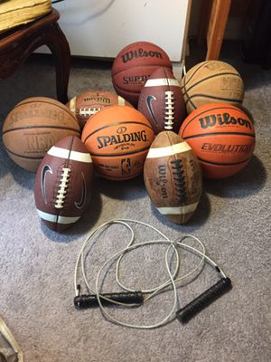 Balls and Jump Rope for Sale in Washington, DC