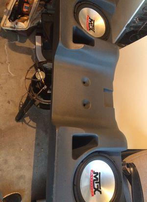 MTX Thunderform Chevy Silverado Extra Cab Skeaker Box for Sale in Culver City, CA
