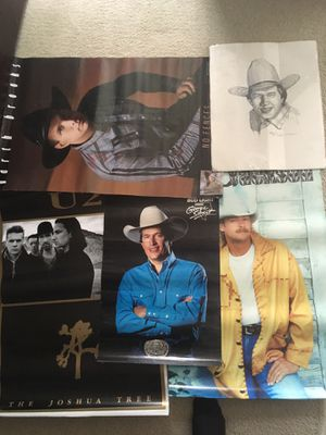 Free various music posters and art for Sale in Round Rock, TX