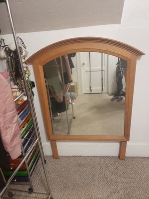 Wooden mirror, OBO for Sale in Portland, OR