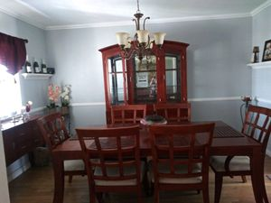 Entire Dining set (China, buffet, dinning table, & 6 chairs) for Sale in East Los Angeles, CA