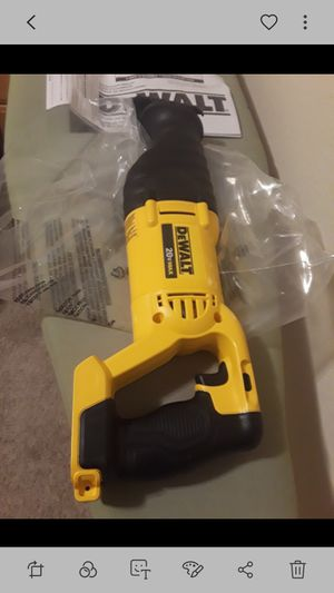 Brand new dewalt 20v sawzal tool only for Sale in Fresno, CA