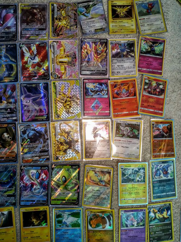 Huge Pokemon Card Collection!