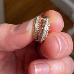 Diamond Hoop Earrings for Sale in Mansfield,  MA