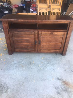 Very-nice-wooden-tv-stand-cabinet!!!! for Sale in Pomona, CA